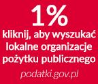 Wyszukaj lokalne organizacje pożytku publicznego na stronie Ministerstwa Finansów