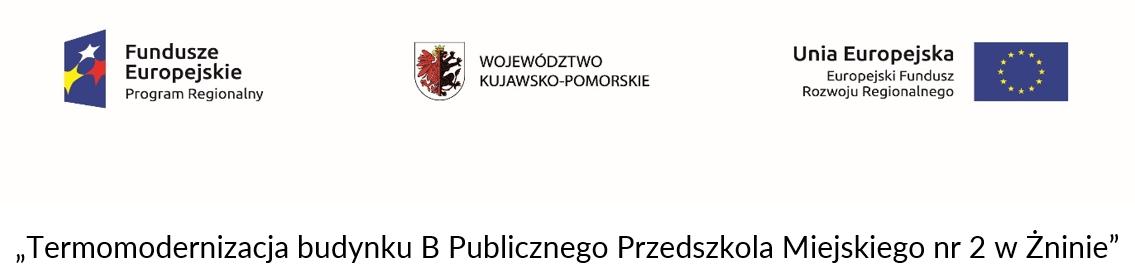 Termomodernizacja budynku B Publicznego Przedszkola Miejskiego nr 2 w Żninie